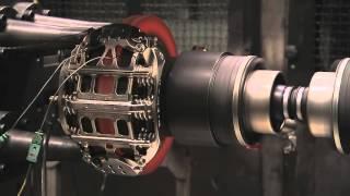 Brembo: prove al banco di un disco F.1 in carbonio