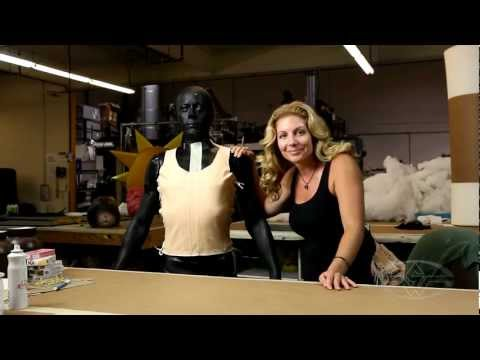 FX Corset Harness Fabrication - PREVIEW