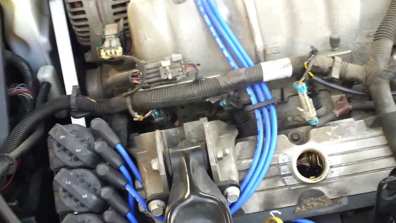 04 and up Grand Prix Changing Spark Plugs  YouTube