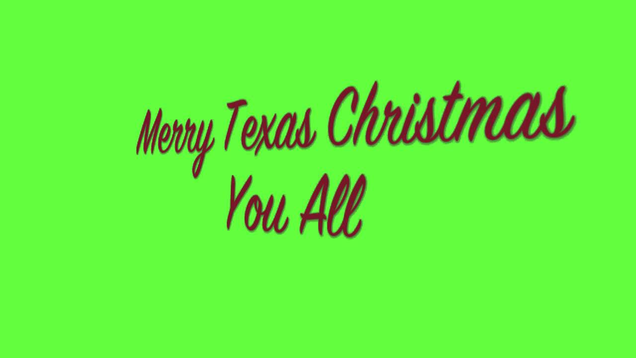 Merry Texas Christmas You All - Ernest Tubb - YouTube