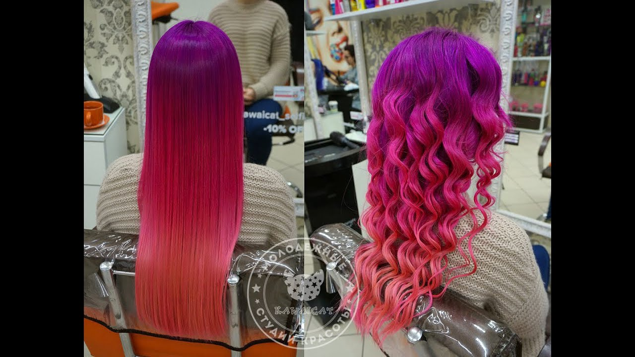 Розовые волосы, реально ли это? 62