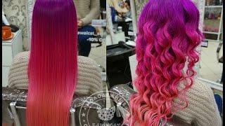 Как покрасить волосы в розовый, лавандовый,  фиолетовый цвет красителем Антоцианин(Как сделать волосы красивейших цветов - розового, лавандового, фиолетового? Собственно самое главное это..., 2016-03-02T15:29:49.000Z)