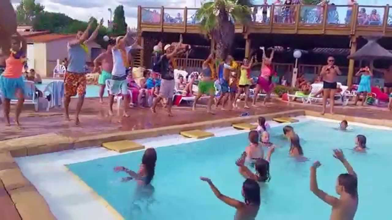 la danse de l 39 t la piscine youtube