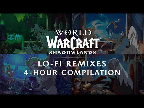 Shadowlands Lo-Fi Remixes: 4-Hour Compilation