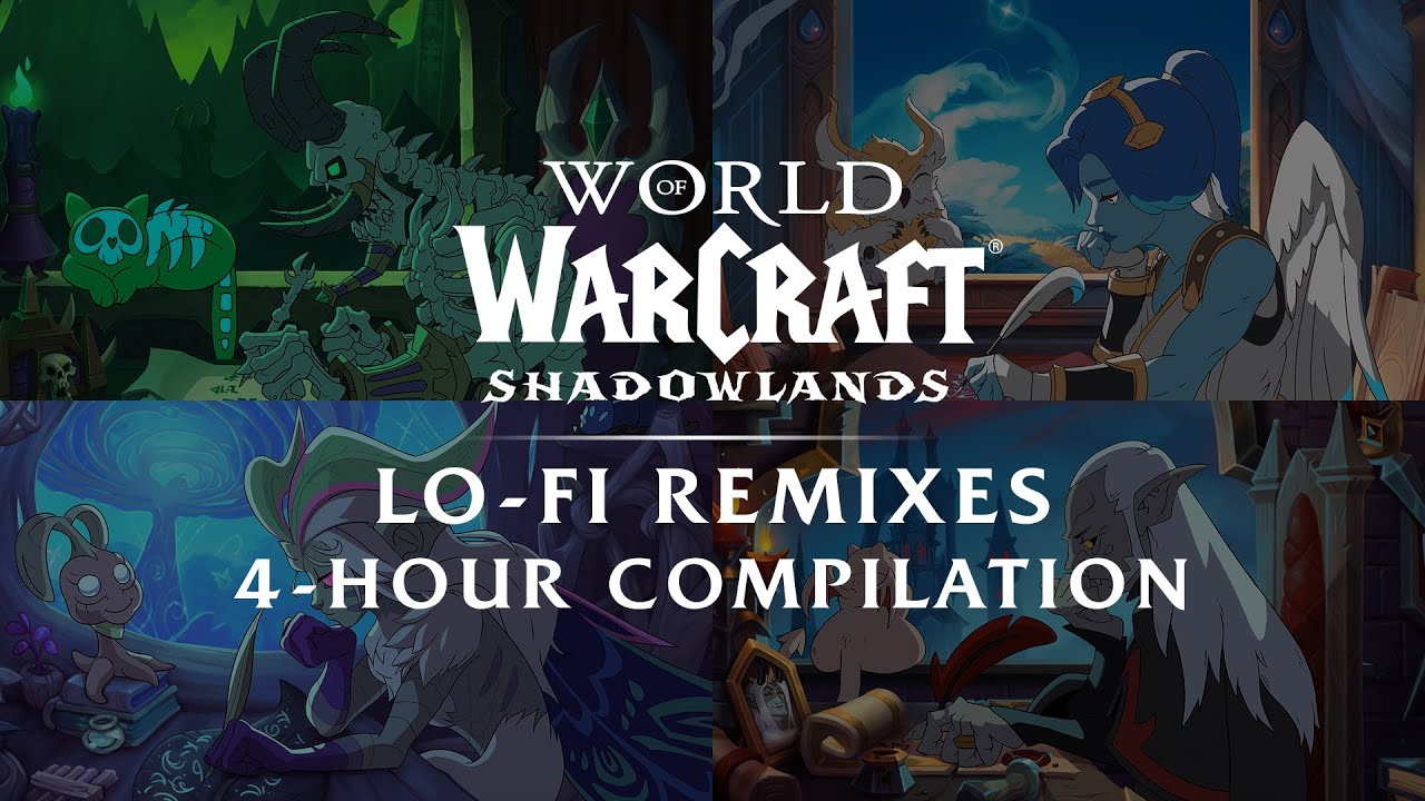 Shadowlands Lo-Fi Remixes: 4-Hour Compilation