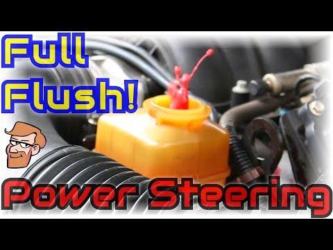 Power Steering Flush: Full Power Steering System Fluid Flushing • Cars Simplified