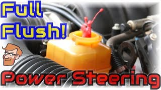 Power Steering Flush: Full Power Steering System Fluid Flushing • Cars Simplified