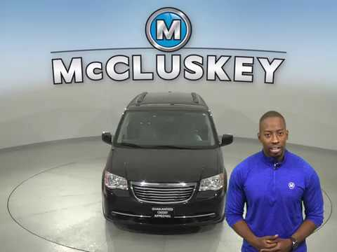 A16860PT Used 2014 Chrysler Town & Country Black Van Test Drive, Review, For Sale -