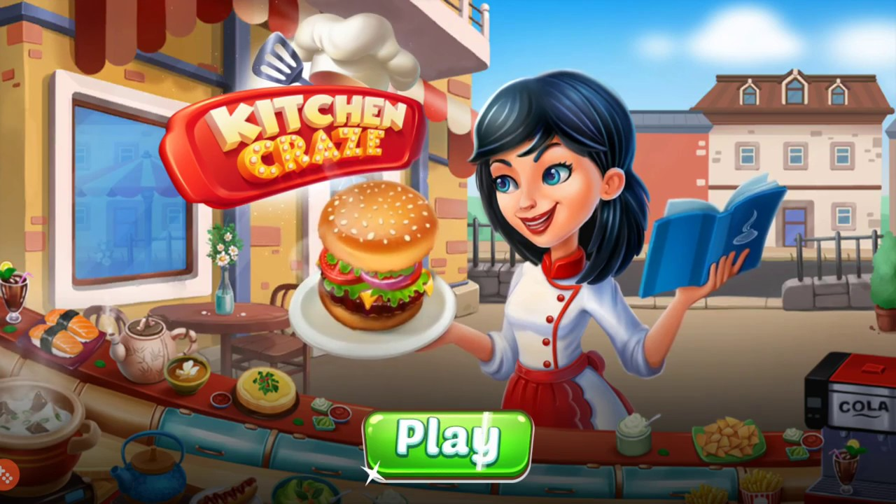 Kitchen craze level 1 2 3 4 5 3 stars burger queen