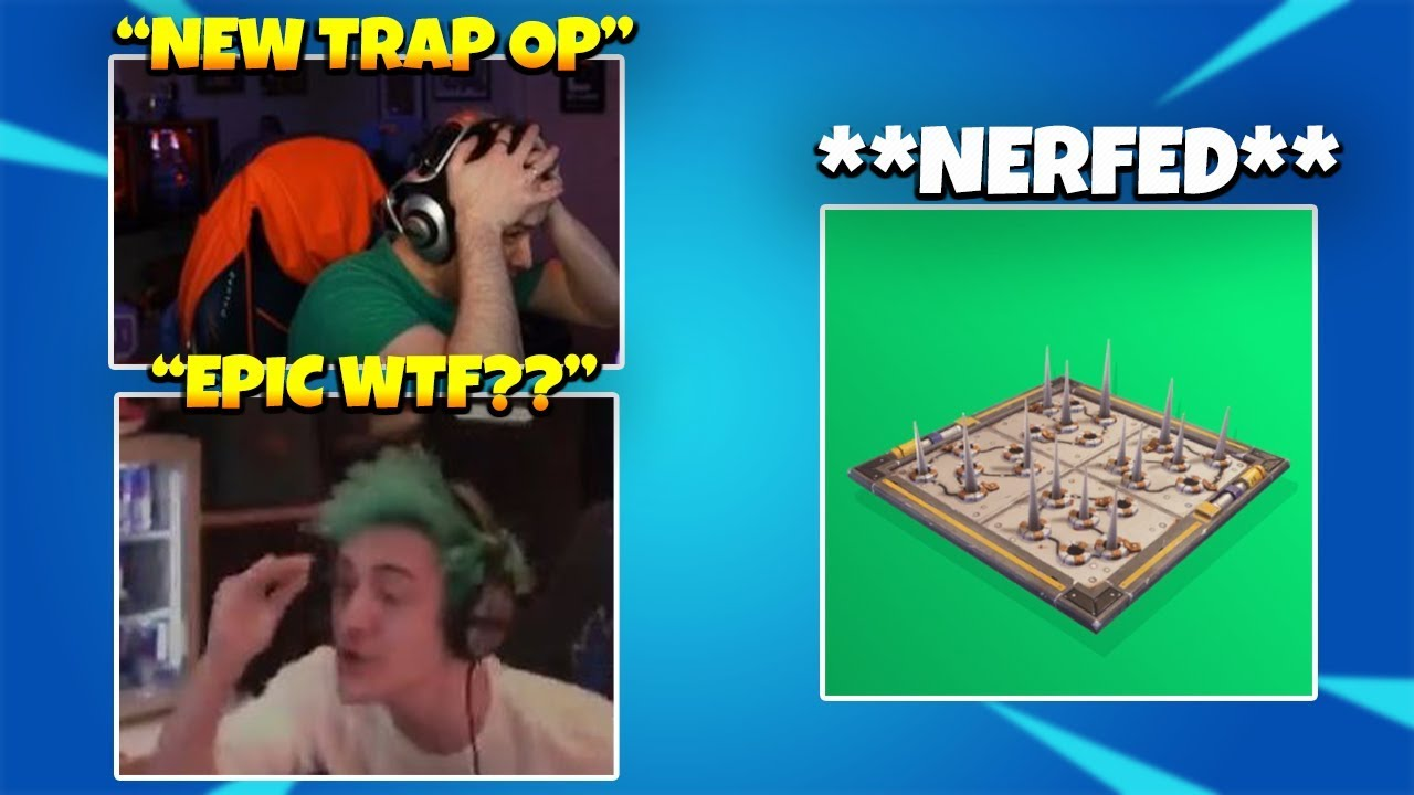 STREAMERS DISGUSTED AFTER TRAPS GET **NERFED** IN NEW PATCH