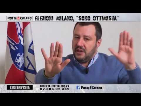 Matteo Salvini intervistato da Roberto Poletti su Telelombardia (17/02/2016)