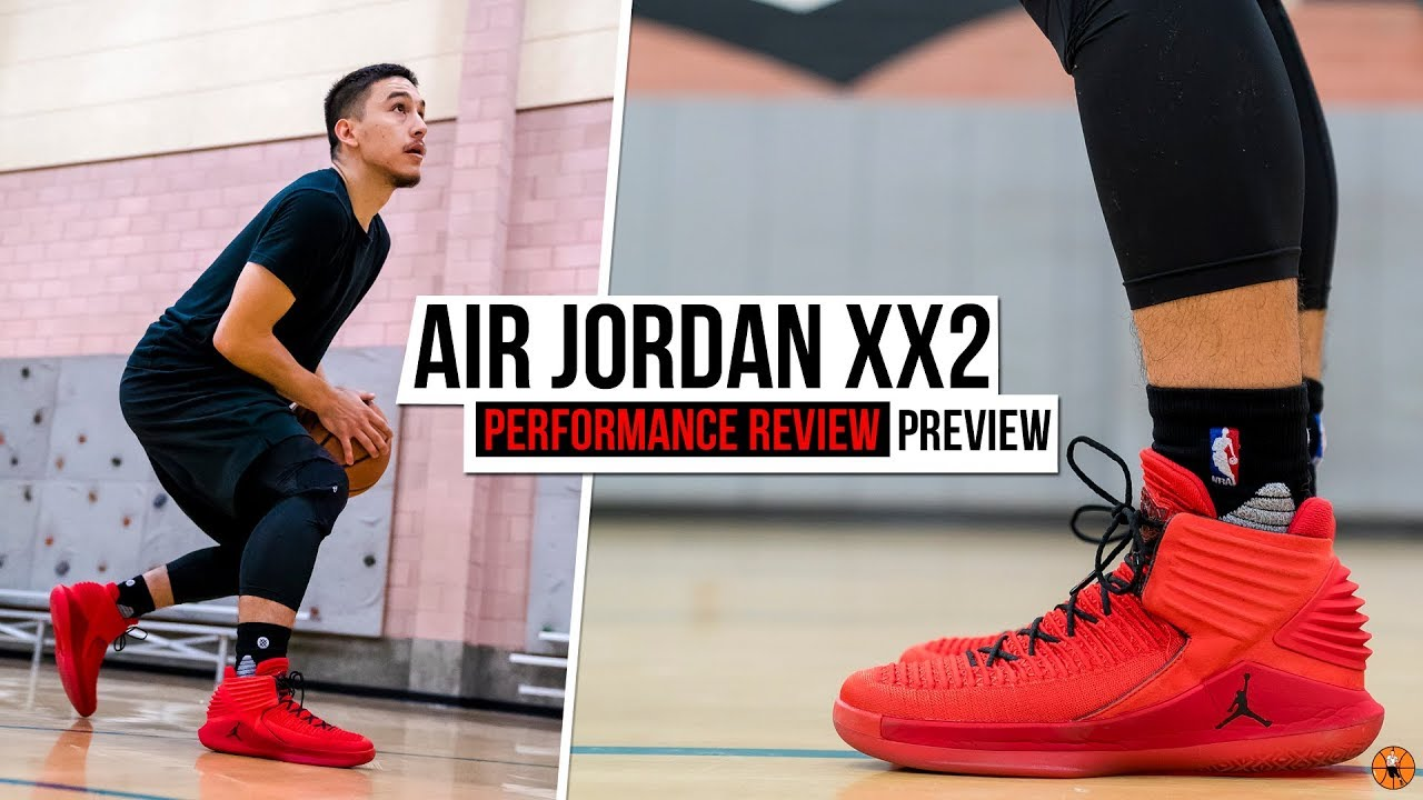 ff8c501e172a Air Jordan XXX2 (32) Performance Review PREVIEW! - YouTube