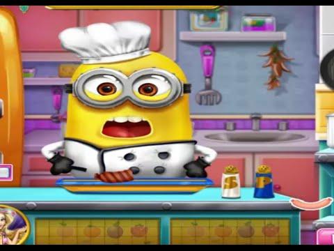 los minions cocina con los minions juegos para nios y nias