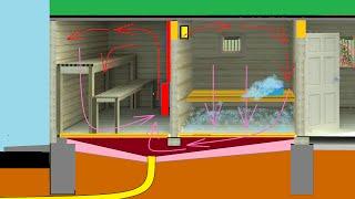 видео Вентиляция в деревянном доме: важные моменты обустройства