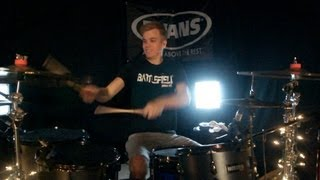 Skillet - Circus For A Psycho - Drum Cover - Brooks (feat. Jen Ledger of Skillet)