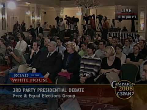 Another Third Party Presidential Debate 2008