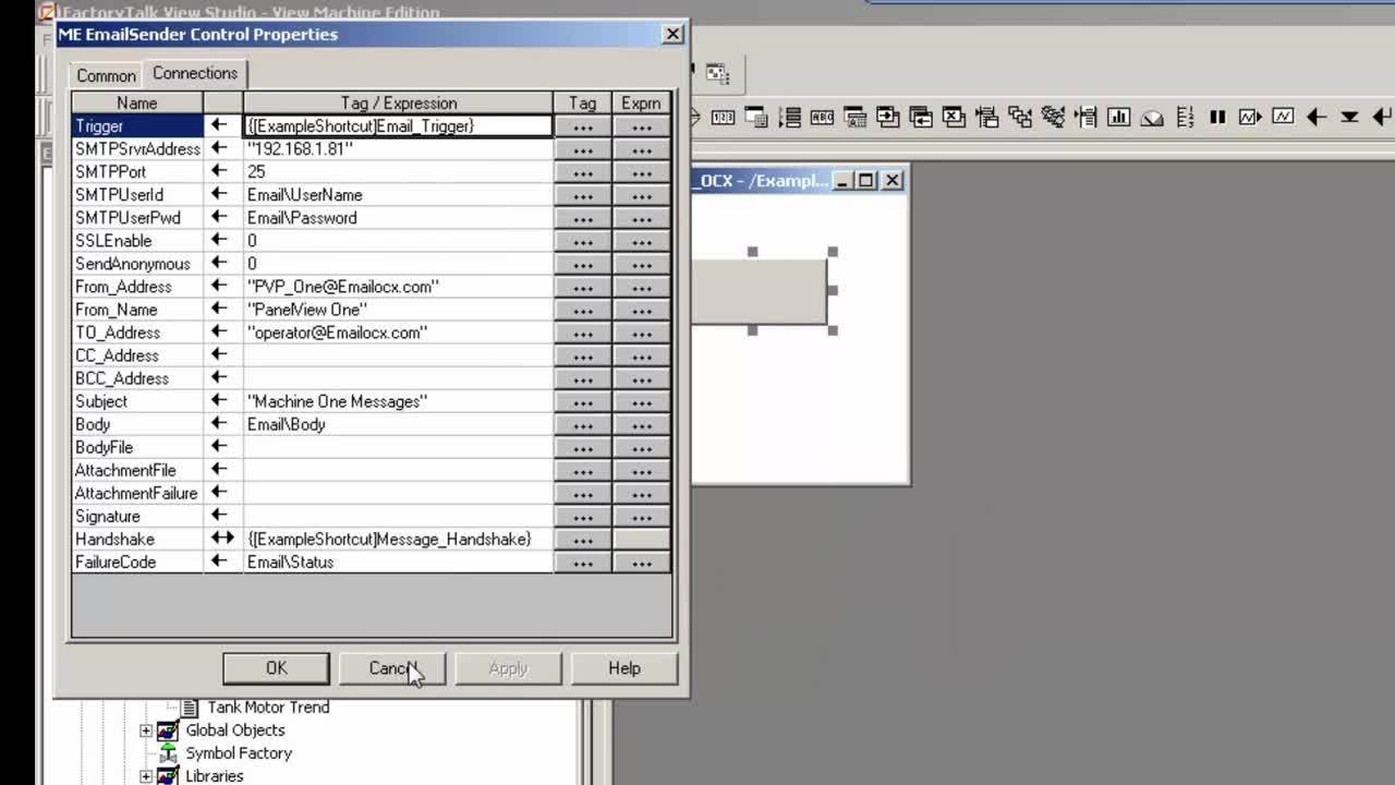 PanelView Plus and FactoryTalk View ME Tips & Tricks - Email ActiveX