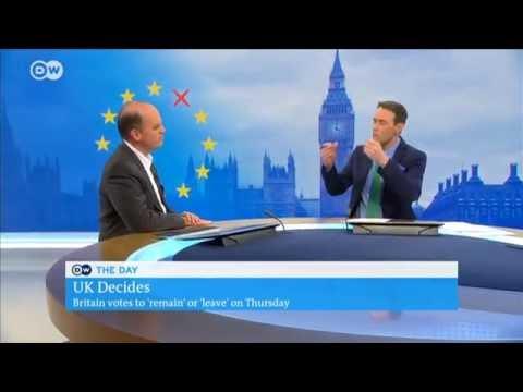 Live Brexit Interview for Deutsche Welle (English)