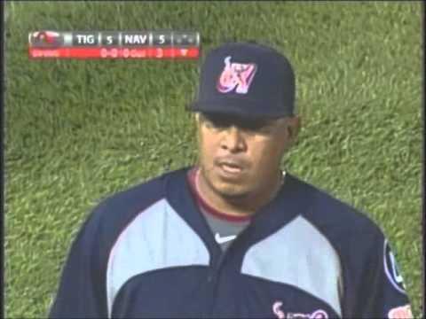 Carlos Vasquez, relevo de 2.2 Innings (Tigres - Navegantes) 21-01-2012