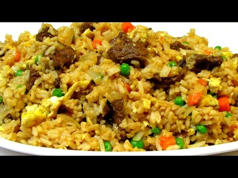 Fried Rice - How To Make Fried Rice - Chinese Food