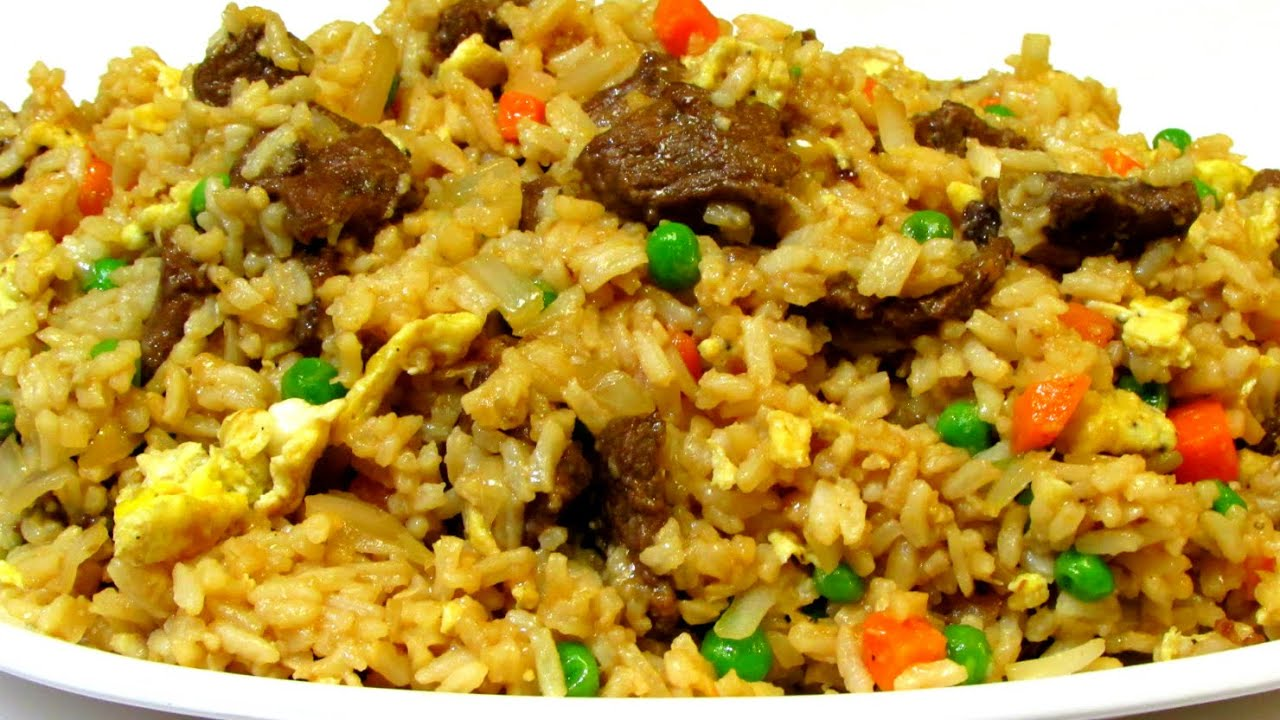Fried rice how to make fried rice chinese food youtube forumfinder Images