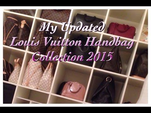 My Updated Louis Vuitton Handbag Collection 2015