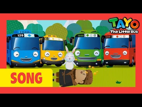 Little Cabin In The Wood l Nursery Rhymes #5 l Tayo the Little Bus