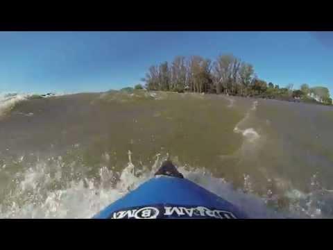 Kayak gopro Salto Uruguay