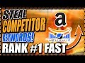 Find Competitor Keywords | Amazon FBA Keyword Research | Cerebro Helium 10 | Paul K Wright