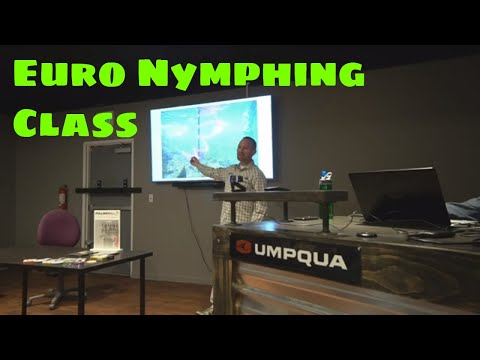 Euro Nymphing Class With Lance Egan -- CAN'T MISS!