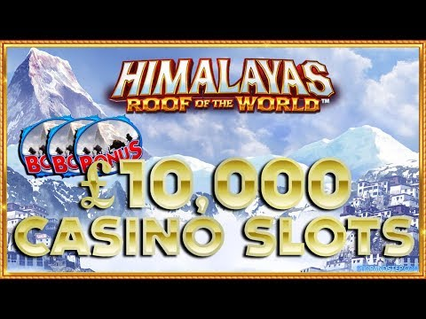 Himalayas & 7's to Burn 🔥 £10,000 CASINO SLOTS! - 동영상