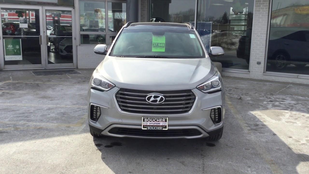 2019 Hyundai Santa Fe XL Limited Ultimate, Stock#: 19HS015