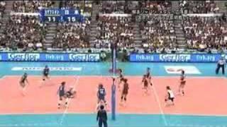 ワールドグランプリ 2008 日本vsカザフスタン - 第3セット