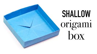 Easy Origami Shallow Masu Box Tutorial ♥︎ DIY ♥︎