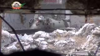 Сирия, снайпер в танке