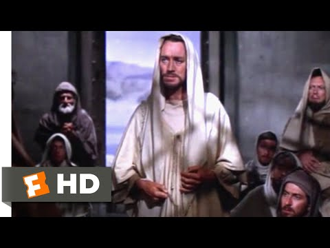 The Greatest Story Ever Told (1965) - Jesus Heals Uriah Scene (3/11) | Movieclips