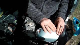 снять облицовку бокового зеркала Форд Фокус 2
