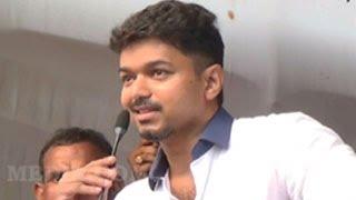 actor vijays latest emotional speech