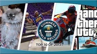 Guinness World Record's Top 10 of 2013 - YouTube Edition!
