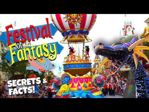 Top 25 Best Festival of Fantasy Secrets! | Recycled Disney Parade Floats