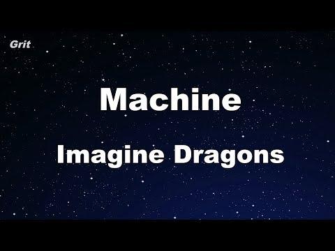 Machine - Imagine Dragons Karaoke 【With Guide Melody】 Instrumental