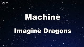 Machine - Imagine Dragons Karaoke 【With Guide Melody】 Instrumental Video