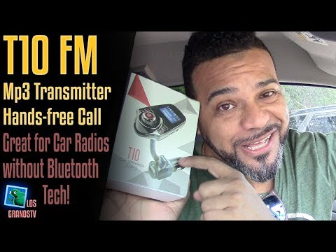 T10 Bluetooth Car MP3 FM Transmitter 📻 : LGTV Review
