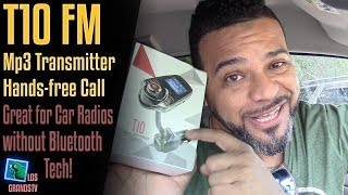 T10 Bluetooth Car MP3 FM Transmitter 📻 : LGTV Review