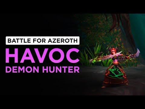 Havoc Demon Hunter   WoW: Battle for Azeroth - Alpha [1st Pass]