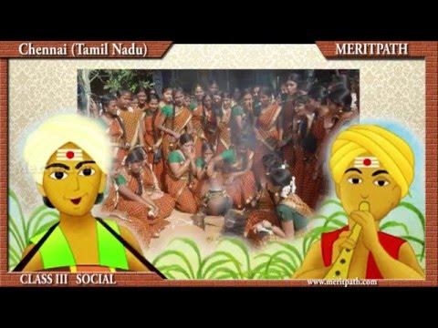 III  Social: Chennai,Madras,Tamilnadu,Languages, Culture