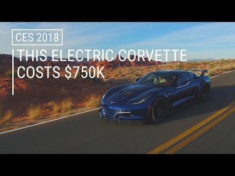Why The F*&^ Does This Electric Corvette Cost $750,000?