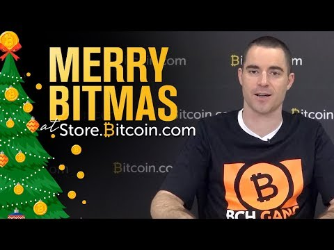 Merry Bitmas at Store.Bitcoin.com