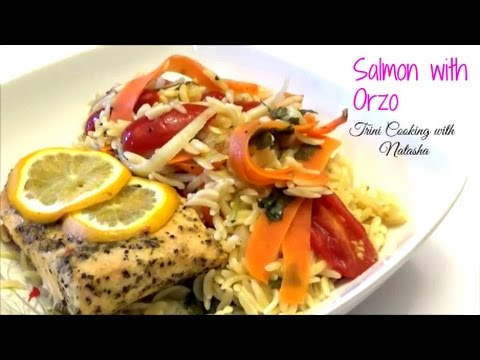 Baked Salmon With Orzo - Episode 394