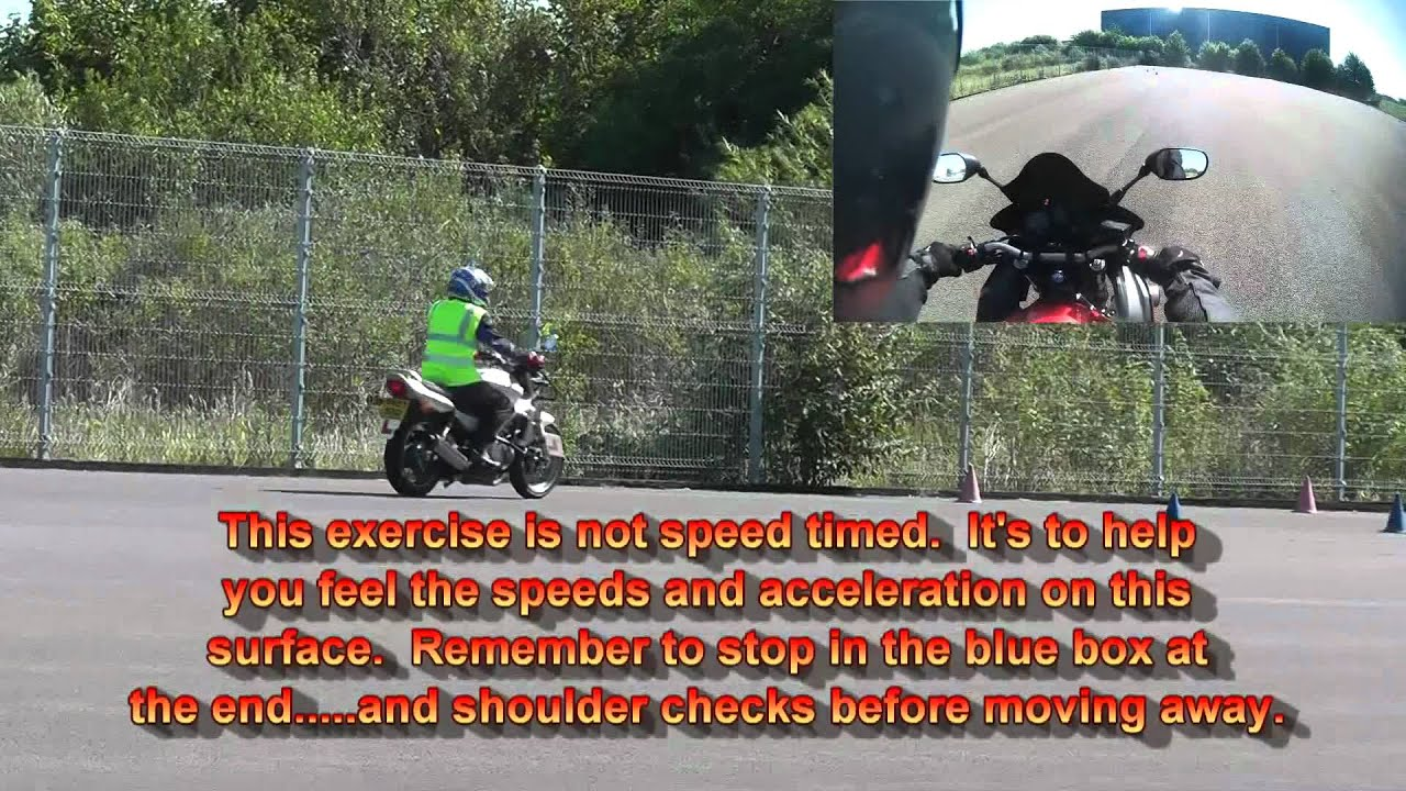 Tips to Pass Your Motorcycle Test: Module 1   AxleAddict